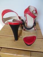 Sandales Belle Women brun rouge P41 T14cm 1