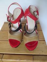 Sandales Belle Women brun rouge P41 T14cm