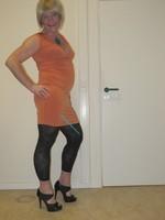 robe orange Esprit collection 5