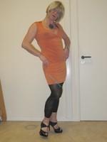 robe orange Esprit collection 2