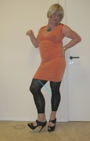 robe orange Esprit collection 3