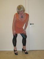 robe orange Esprit collection 4