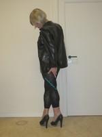 Jupe noir oh boy et legging dessin 8