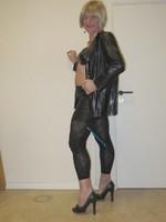 Jupe noir oh boy et legging dessin 5