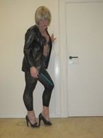 Jupe noir oh boy et legging dessin 6