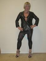 Jupe noir oh boy et legging dessin 2