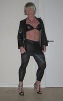Jupe noir oh boy et legging dessin 7
