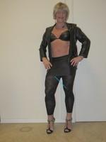 Jupe noir oh boy et legging dessin 9