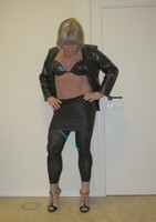 Jupe noir oh boy et legging dessin 15
