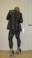 Jupe noir oh boy et legging dessin 24