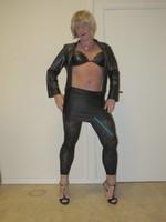 Jupe noir oh boy et legging dessin 23