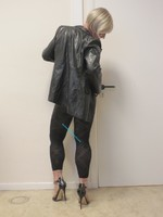 Jupe noir oh boy et legging dessin 29