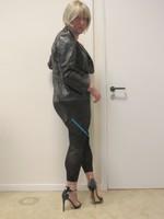 Jupe noir oh boy et legging dessin 32