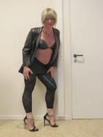 Jupe noir oh boy et legging dessin 37
