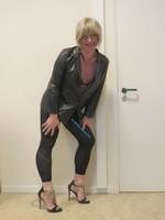 Jupe noir oh boy et legging dessin 35