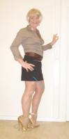 Jupe noir Esmara chemise marron ligne 7 - kopie
