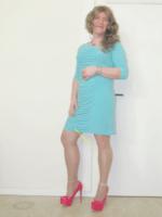 Robe verte Amy Vermont 5