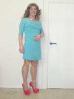 Robe verte Amy Vermont 2