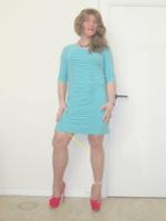 Robe verte Amy Vermont 7