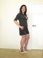 Jupe noir Esmara et chemise noir Woman 11