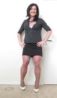 Jupe noir Esmara et chemise noir Woman 16