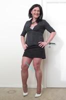 Jupe noir Esmara et chemise noir Woman 17