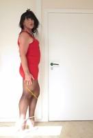 Robe rouge et noir tout feu tout femme 8 [1600x1200]