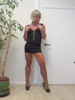 robe noir decoleter tirette 28