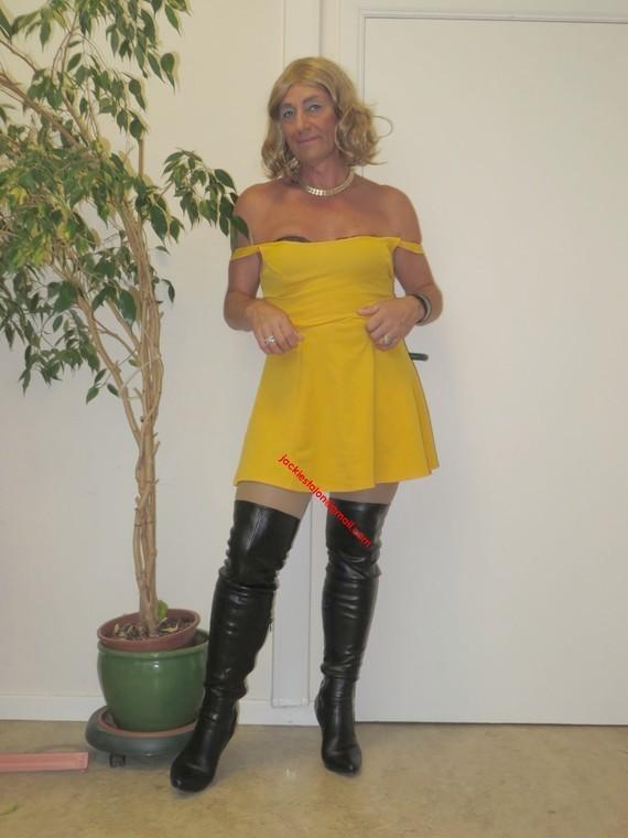 robe jaune Forever 21 39