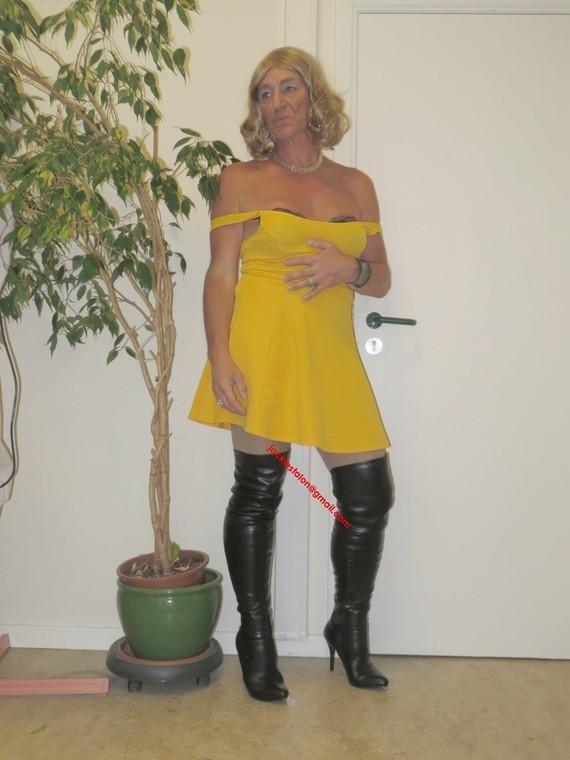 robe jaune Forever 21 41