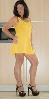 robe jaune forever 21 5