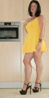 robe jaune forever 21 12