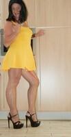 robe jaune forever 21 15