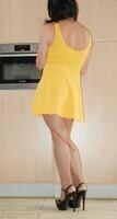 robe jaune forever 21 19