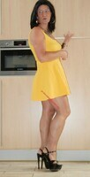 robe jaune forever 21 21