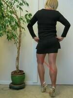 robe noir cop copine 3