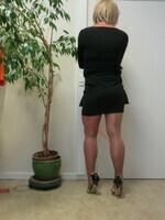 robe noir cop copine 13