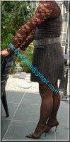 robe maron ligne 1