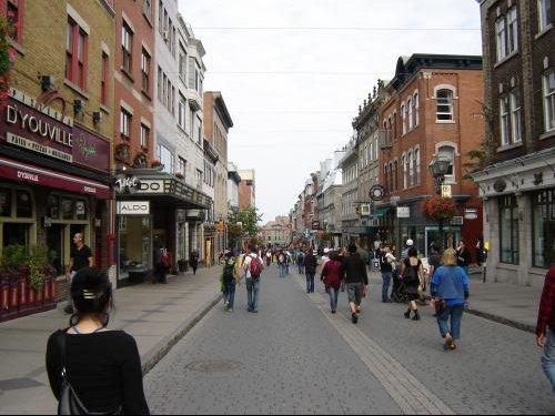 Quebec, rue St-Jean