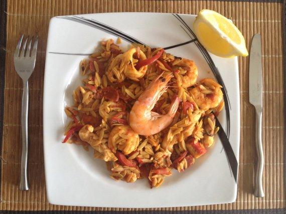 Paella diete