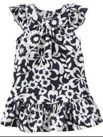 Floral Jersey Dresses for Baby by oldnavy Gap $12.50