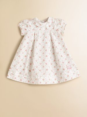 Infant's Floral-Print Dress by Baby Dior 154,27€