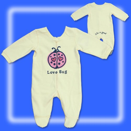 Life is Good Baby Love Bug Play Suit (pajamaheaven.com)