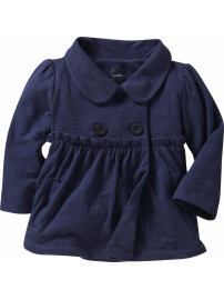 Knit babydoll jacket $25 by Gap