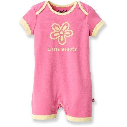 Life is good Little Beauty Romper - Infant Girls $25 (rei.com)