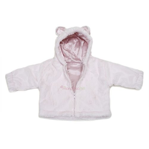 Little Giraffe Luxe Jacket 6 months $67.95 in pink