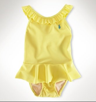 Loria swimsuit for infant girl by ralph lauren $35