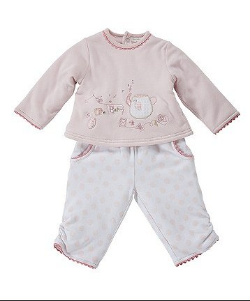 Two Piece Wadded Trouser Set by mamas and papas £12.60