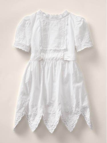 stella dress in optic white by stella mc cartney for baby gap1