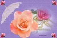 roses et perles